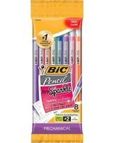 Bic #2 Xtra Sparkle Mechanical Pencils, 0.7mm, 8ct - Multicolor, Assorted