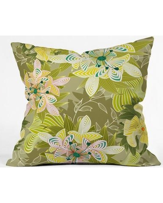 "East Urban Home Polyester Throw Pillow EHME8872 Size: 20"" H x 20"" W x 6"" D"