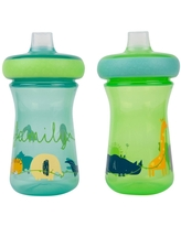 The First Years 2pk Soft Spout Sippy Cups 9oz - Zoo