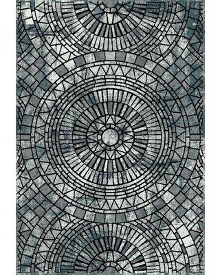 """World Menagerie Calloway Gray Area Rug W000562022 Rug Size: Rectangle 7'10"""" x 9'10"""""""