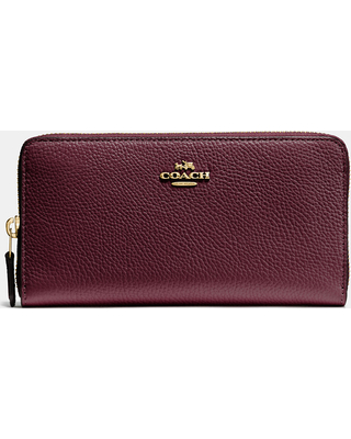 a6f4d1ff63bf Here s a Great Price on Coach Accordion Zip Wallet