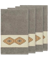 Millwood Pines Embassy Embellished Turkish Cotton Bath Towel BF110031 Color: Dark Gray