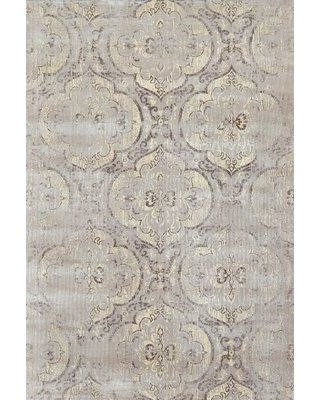 """Feizy Rugs Granberg Gray Area Rug 6223269FGRA000 Rug Size: Rectangle 7'4"""" x 10'3"""""""