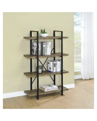 New Deals On Knepper Etagere Bookcase Millwood Pines