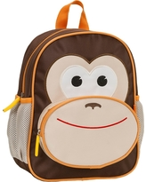 Rockland 12.5 Junior My First Backpack - Monkey, Brown