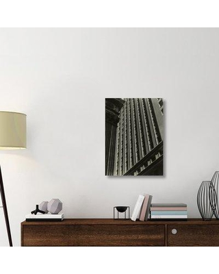 "East Urban Home 'Untitled (Architectural Abstraction New York) 1930s or 1940s' Photographic Print on Wrapped Canvas ERNI8805 Size: 30"" H x 22.5"" W x 1.5"" D"