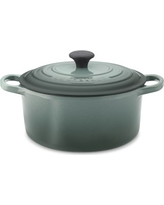 Le Creuset Signature Cast-Iron Round Dutch Oven, 3 1/2-Qt., Ocean