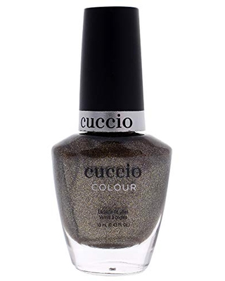 Cuccio Colour Nail Polish - Nurture Nature - Nail Lacquer for Manicures & Pedicures, Full Coverage - Quick Drying, Long Lasting, High Shine - Cruelty, Gluten, Formaldehyde & 10 Free - 0.43 oz