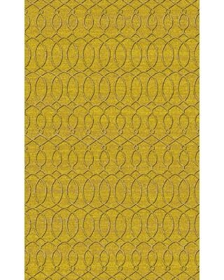 Alcott Hill Mcgreevy Hand-Knotted Wool Olive Area Rug ALCT9012 Rug Size: Rectangle 8' x 11'