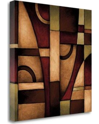 "Tangletown Fine Art 'Connections II' Graphic Art Print on Wrapped Canvas CA312204-2020c Size: 30"" H x 30"" W"
