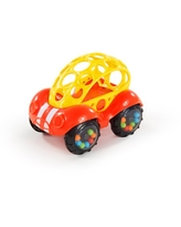 Oball Rattle & Roll Buggie Easy Grasp Push Vehicle Toy, Ages 3 months +