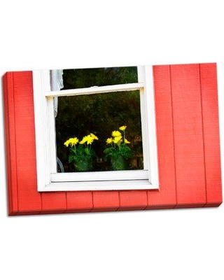 August Grove 'Flowers in a Window II' Photographic Print on Wrapped Canvas BF055847