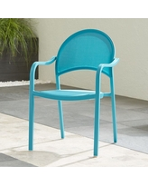 Amazing Deal On Lanai Charcoal Mesh Dining Chair