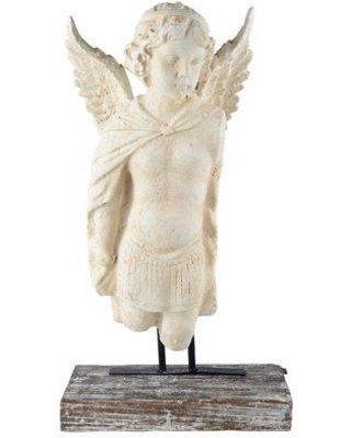 One Allium Way Hand crafted Garden Angel Bust Statue OAWY8375