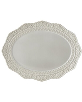 Amazing Savings On Lenox Blue Chelse Muse Flowing Floral Oval Platter