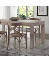 Grain Wood Furniture Montauk Solid Wood Dining Table 9632 Finish: Driftwood