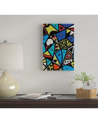 "East Urban Home 'Urban Renaissance' By Barruf Graphic Art Print on Wrapped Canvas EUME2945 Size: 18"" H x 12"" W x 0.75"" D"