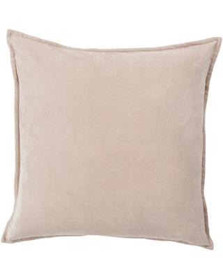 Artistic Weavers Velizh Brown Solid Polyester 18 in. x 18 in. Throw Pillow
