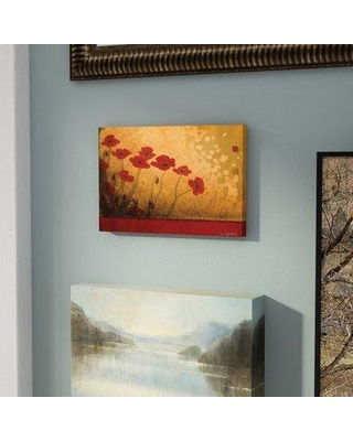 """East Urban Home 'Walking in Eden' Painting Print on Wrapped Canvas ESRB9013 Size: 40"""" H x 60"""" W x 1.5"""" D"""
