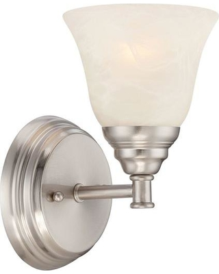 Designers Fountain Kendall 1-Light Satin Platinum Wall Sconce