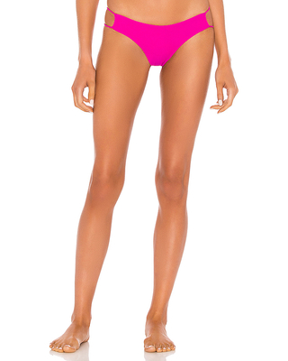 superdown Zana Bikini Bottom in Pink. - size S (also in L, XL)