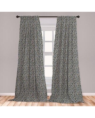 Discover Deals On East Urban Home Spring Floral Room Darkening Rod Pocket Curtain Panels Fcnf9561 Size Per Panel 28 X 95