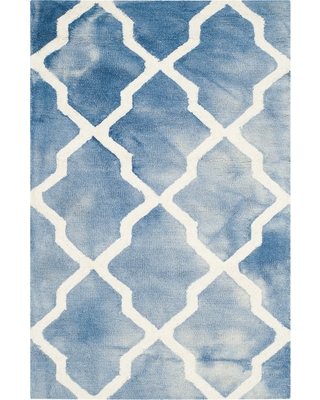 """Page Accent Rug - Blue / Ivory (2'6"""" X 4') - Safavieh"""