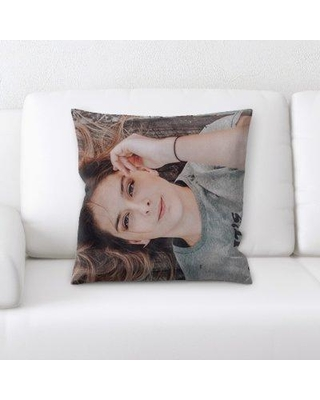 East Urban Home Woman Throw Pillow W000854036