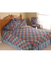 Patch Magic Homestead Throw Single Reversible Quilt THHMSTD