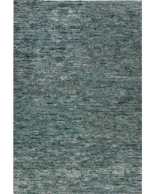 Dynamic Rugs Gem Hand-Looped Blue Area Rug DY5572 Rug Size: Rectangle 2' x 4'