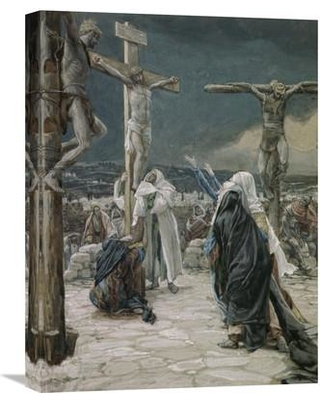 """Global Gallery 'Death of Jesus' by James Tissot Painting Print on Wrapped Canvas GCS-282898-22-142 / GCS-282898-30-142 Size: 30"""" H x 22.56"""" W x 1.5"""" D"""