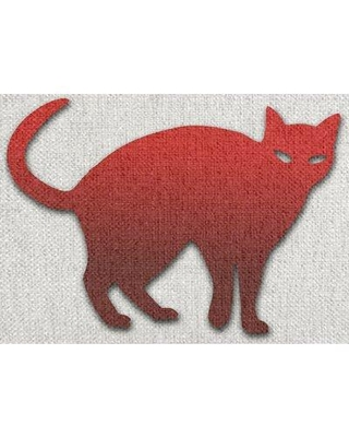 East Urban Home Autumn Red Area Rug W002137266
