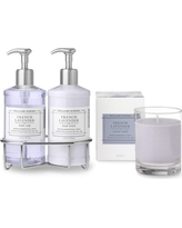Williams Sonoma French Lavender Hand Soap & Lotion, Deluxe 6-Piece Set