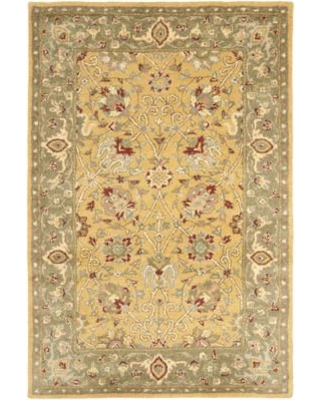 Charlton Home Dunbar Hand-Tufted Wool Multicolor Area Rug CHLH6210 Rug Size: Rectangle 4' x 6'