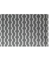 Wrought Studio Uresti Decorative Holiday Geometric Print Gray Indoor/Outdoor Area Rug VRKG4499 Rug Size: Rectangle 3' x 5'