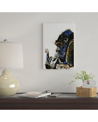 """East Urban Home 'Gentle Giant' By Lisa Whitehouse Graphic Art Print on Canvas EUME1954 Size: 26"""" H x 18"""" W x 0.75"""" D"""