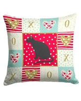 Find Big Savings On Aesir Ojos Azules Cat Love Outdoor Rectangular Cushion With Filling The Holiday Aisle
