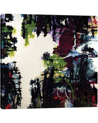"""Jaxson Rea 'Light in the Shadows' by Barbara Biolotta Painting Print on Wrapped Canvas SC1970 Size: 48"""" H x 48"""" W x 1.5"""" D"""