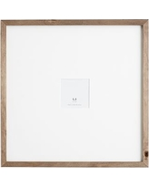 Wood Gallery Oversized Frame, 4x4 - Gray