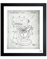 "Oliver Gal Stand Mixer Wiping Beater 2012 Framed Graphic Art 1B00378 Size: 19.5"" H x 16.5"" W x 0.5"" D"