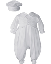 Infant Boy's Little Things Mean A Lot Romper & Hat Set