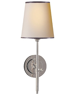 Bryant Decorative Wall Sconce by Visual Comfort - Color: Silver - Finish: Antique - (TOB 2022AN-WG)