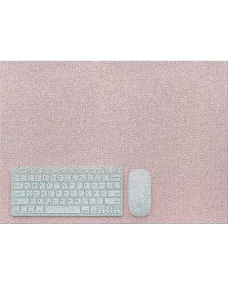 East Urban Home Computer and Mouse Pink Area Rug X111406227 Rug Size: Rectangle 2' x 3'