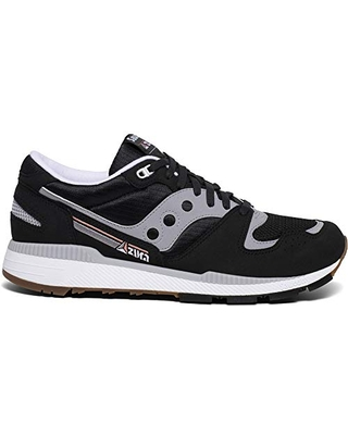 Saucony Women's Azura Sneaker, Black/Grey, 12