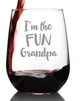 Grandpa Est 2020 New Grandfather Beer Can Pint Glass Gift for First Time Grandparents Decorative 16 oz Glasses