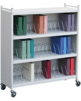 Omnimed Large Cabinet Style 45 Cap File Cart 260145 Color: Beige