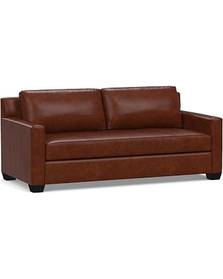 Peachy Amazing Deal On York Square Arm Leather Sofa 80 With Bench Evergreenethics Interior Chair Design Evergreenethicsorg