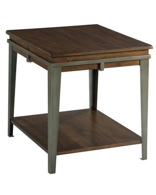 Composite Collection 979-915 RECTANGULAR END TABLE in Rich