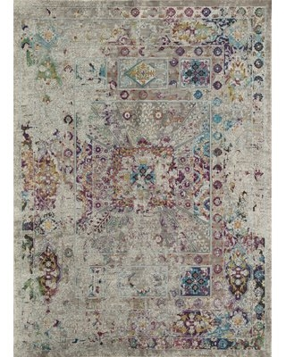 Chauvin Vintage Gray Area Rug Bungalow Rose Rug Size: Rectangle 5' x 7'