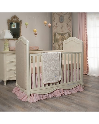 Shop Deals For Crib Bedding Maddie Set By Glenna Jean Baby Girl Nursery Hand Crafted With Premium Quality Fabrics Includes Quilt Sheet And Bed Skirt With Pink And Ivory Accents